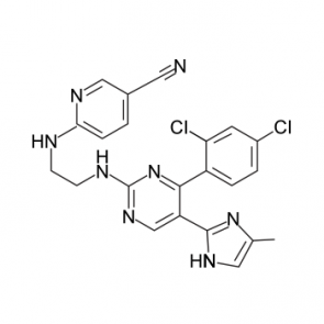 Chemical structure of CHIR99021