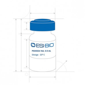 PEGSSDA Vial, 0.5 mL
