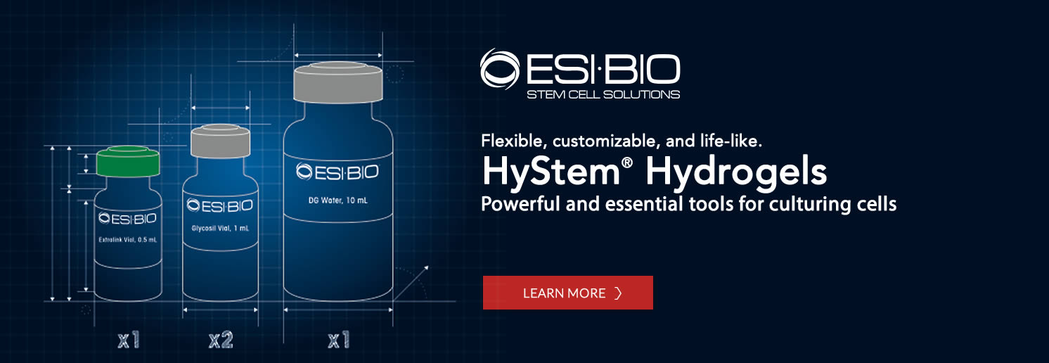 HyStem Hydrogels - Learn more