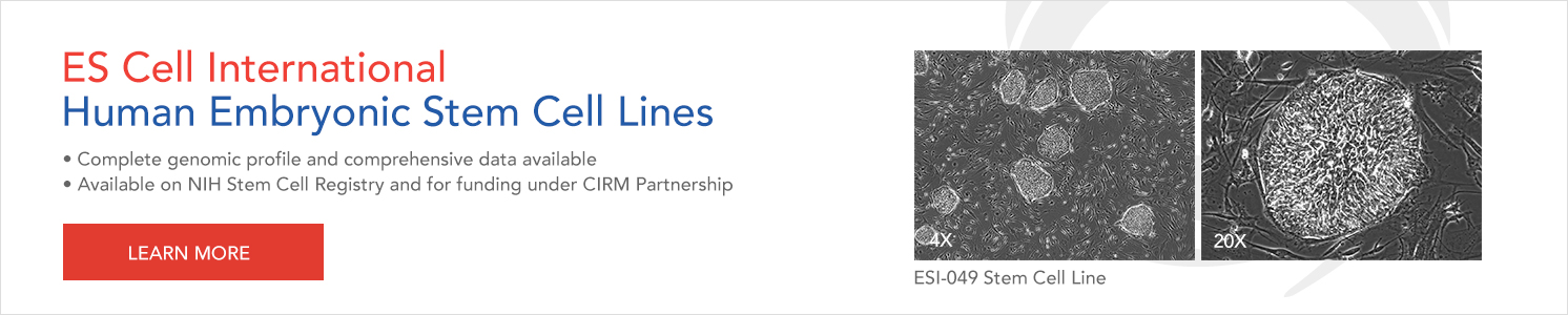 Learn more about ESI Stem Cell Lines