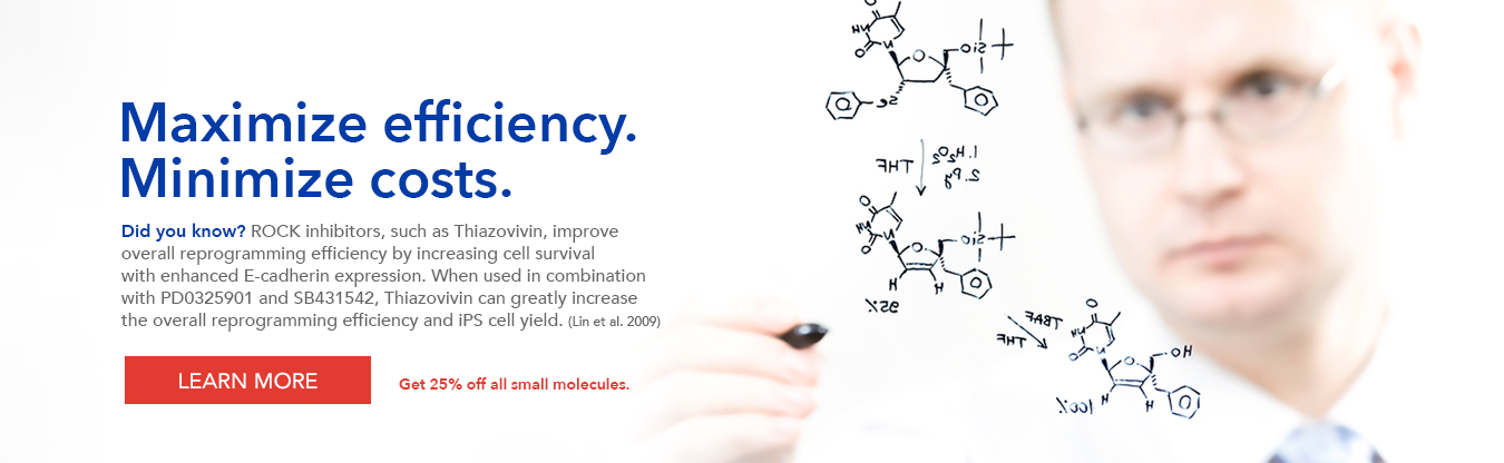 Save on all small molecules
